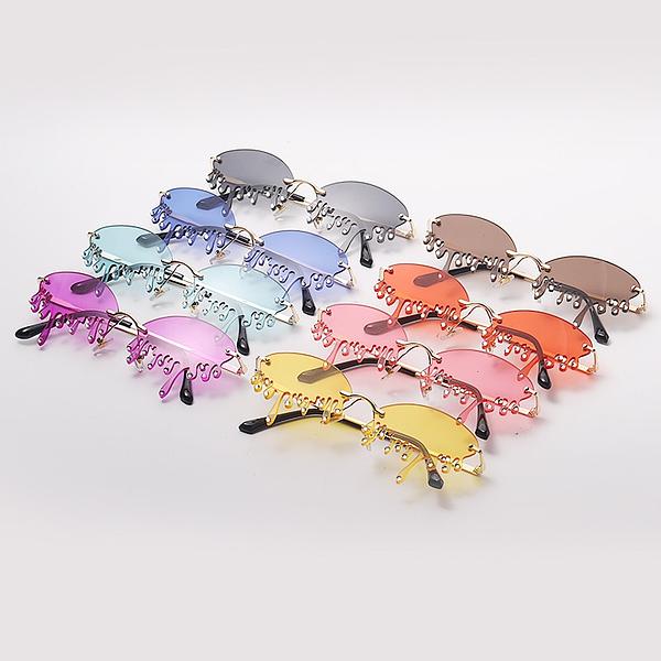 """Crystal Drip"" - Punk Sunglasses"