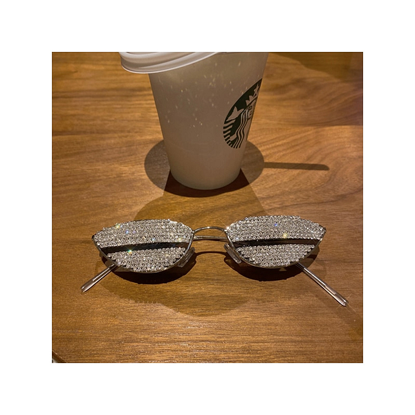 """Glitz"" - Cat Eye Sunglasses"